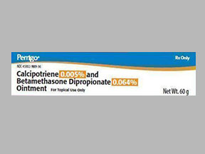 Calcipotriene Betamethasone Dipropionate Ointment Oint 0 005 0 064